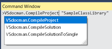 The MSBuild task for executing any Visual Studio command