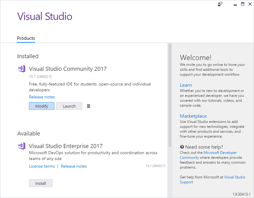 I Cannot See My Class Diagrams In Visual Studio 2017